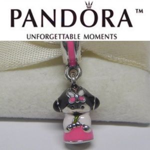 791387ENMX Retired Pandora Korean Doll Charm